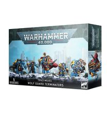Warhammer 40k Space Wolves Wolf Guard Terminators ->New in Box<-