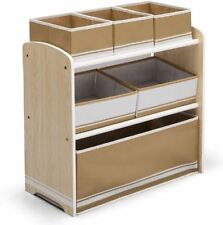 MDF/Chipboard-Matt Effect Solid Storage Units for Children