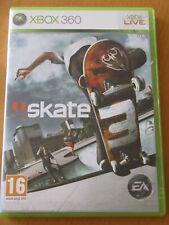 Skate 3 (Microsoft Xbox 360,) incluso el caso y folleto
