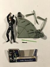 "Star Wars Luke Skywalker Jedi Knight Throne Room Duel Saga AOTC 3.75"" Complete"