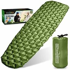 New listing Outdoorsman Lab Sleeping Pad for Camping - Patented Camp Mat Ultralight - Bes...