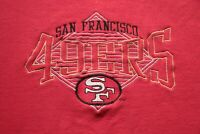 Vintage 90s San Francisco 49ers Sweatshirt Distressed L NFL Football