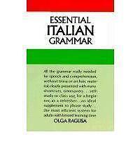 Essential Italian grammar-ExLibrary