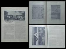 LA CONSTRUCTION MODERNE -n°20 -1920- FERME PICARDIE, ANSELMI