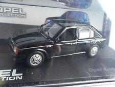 Opel Kadett D GT/E / Modellauto / Schwarz / unbespielt / 1:43