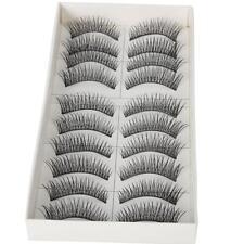 50 Pairs New Makeup Handmade Natural Fashion Long False Eyelashes Eye Lashes B-9