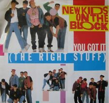 """NEW KIDS ON THE BLOCK you got it + remix SP45T 7"""" 1988+"""