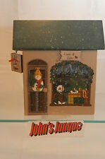 Shelf Sitter~Cards & Gift Shop~Wooden~Apple Tree Village~New~Free Ship In Us~