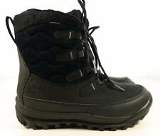 $150 Timberland Woodhaven Mid Waterproof Insulated Boots Black US 6 UK 4