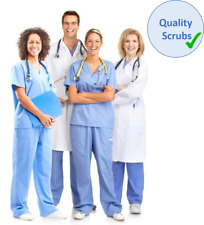UK Medical Scrubs - Doctors Uniform - Nurses, Dentist NHS Set - Reversible
