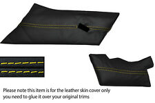 YELLOW STITCHING DASH TRIM LEATHER SKIN COVER FITS LOTUS ESPRIT