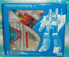 TRANSFORMERS E-HOBBY CLEAR VARIANT  STARSCREAM GHOST  MISB