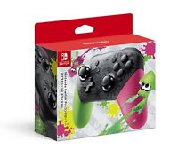 Nintendo Switch Pro controller Splatoon 2 edition JAPAN OFFICIAL IMPORT