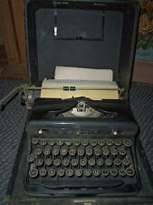 VERY OLD  ROYAL TYPEWRITER WITH CASE TOUCH CONTROL