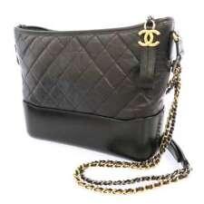 CHANEL Chanel's Gabrielle Hobo Bag Aged Calf Black A93824 2Way Shoulder Bag CC