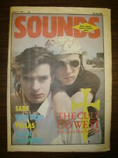 SOUNDS 1984 AUG 11 THE CULT SADE PLAY DEAD PALLAS ALIEN