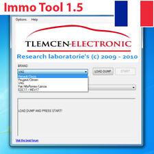 Immo Tool 1.5 - Supprime l'anti démarrage immo repair off bsi ecu moteur