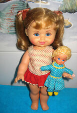 1967 Vintage Original~Buffy & Mrs. Beasley Set~Excellent Face+Hair~Clean w/ Tags