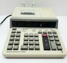 Vintage~Texas Instruments Ti-8250 Electronic Printing Calculator