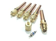 "5-PACK 3/8"" Tube Universal Line Service Valves Schrader Core Tubing CTE38"