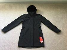 Women's North Face Apex City Trench Coat Jacket Windwall sz. Medium M Black NEW!