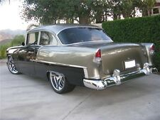 55 Chevy 2 Door 210 Stain.Steel 7 Part Side Molding Set Show Quality
