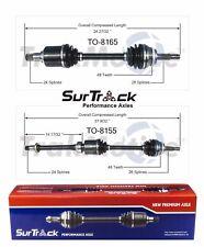 For Scion tC FWD 2005-2009 Pair of Front CV Axle Shafts SurTrack Set