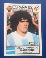 RARE Panini 1982 Espana / Spain World Cup Sticker 176 Diego Maradona - Argentina