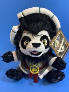 NEW World Of WarCraft Blizzard Lil' Chen Plush Pandaren Cub Panda Stuffed NWT