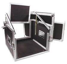 Roadinger Spezial-Kombi-Case Profi 6HE Winkelrack Flightcase Rack Case