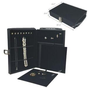 Jewelry BriefCase Jewelry Carry Case Jewelry Salesman Case Travel Case with Lock