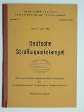 (120) Deutsche Straßenpoststempel Heuer/Labitzke Heft Nr.72 - 1976