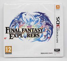 FINAL FANTASY EXPLORERS - NINTENDO 3DS - PAL ESPAÑA - NUEVO PRECINTADO