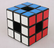 Lanlan Void 3x3 Empty Hollow Out Magic Cube 3x3x3 Speed Cube Black