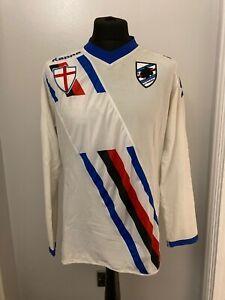 Sampdoria Match Worn/Issue Football Shirt