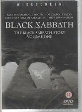 THE BLACK SABBATH STORY VOL. ONE DVD F.C. SIGILLATO!!!