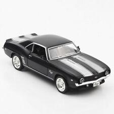 1969 Chevrolet Camaro SS 1:36 Model Car Diecast Gift Toy Vehicle Kids Black
