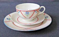 Vintage Art Deco Tea Cup, Saucer & Dessert Plate - GB Daisy Japan 3 Piece Set