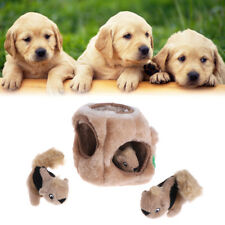 Pet Puzzle Toys Squeaky Three Squirrel Hide Plush Dogs Outward Hound Interactive