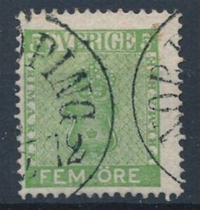 [52048] Sweden good Used Very Fine stamp $35