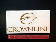 """CROWNLINE  Boats Marine Decal 12"""" - NEW - PREMIUM QUALITY"""