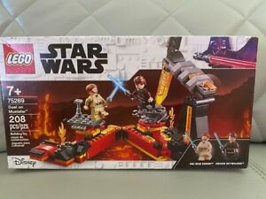 LEGO Star Wars Revenge of The Sith Duel Mustafar 75269 Anakin Skywalker vs. OBI-