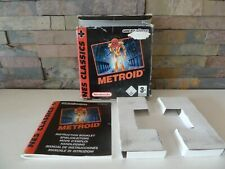 classic : NINTENDO GAMEBOY ADVANCE : METROID ****BOX and MANUAL ONLY*