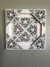 WALL ART, HANDMADE SILHOUETTE ART WITH DIE CUT DETAIL 4 CHOICES AVAILABLE