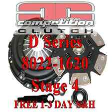 Competition Stage 4 Clutch Del Sol Civic Si D16Z6 D16Y8 or7 D15B D16A  8022-1620