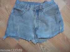 vintage calvin klein jean short shorts size 3