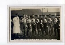 (Jz367-100) Pattreiouex,Sporting Events & Stars,England Test Team,1935 #16