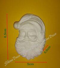 Polystyrene Styrofoam Santa Shape 6,5 cm (Pack of 5)