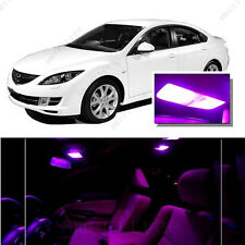 For Mazda 6 2003-2008 Pink LED Interior Kit + Pink License Light LED