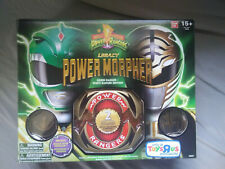 Power Rangers Legacy Morpher Green White Ranger Edition Bandai #96607 NEW